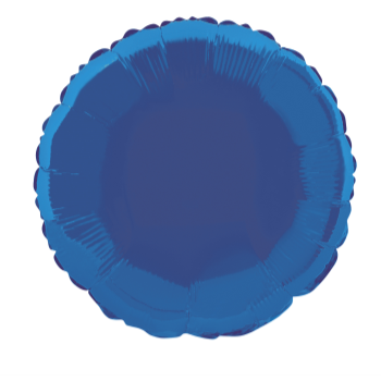 "Image de 18"" FOIL - ROYAL BLUE ROUND"