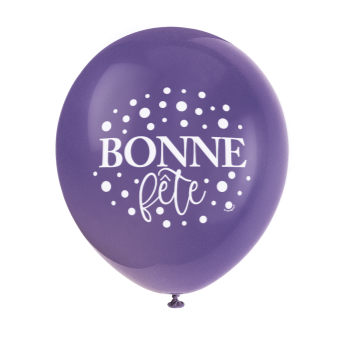"""Picture of BONNE FÊTE - 12"""" BALLOONS"""