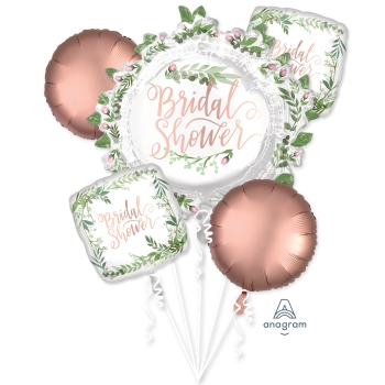 Image de LOVE & LEAVES BRIDAL SHOWER FOIL BOUQUET
