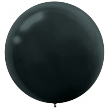 "Picture of 24"" BLACK LATEX BALLOONS - 25CT"