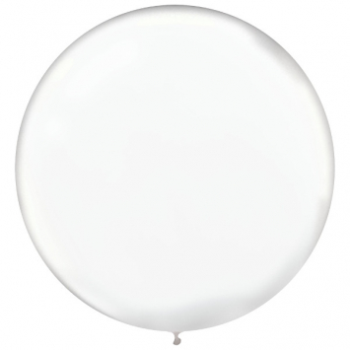 "Picture of 24"" CLEAR LATEX BALLOONS - 25CT"