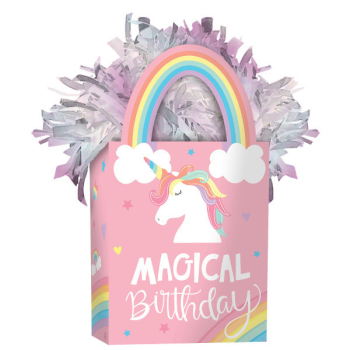 Picture of MAGICAL RAINBOW BIRTHDAY BALLOON WEIGHT
