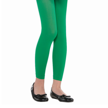 Image de GREEN FOOTLESS TIGHTS - CHILD