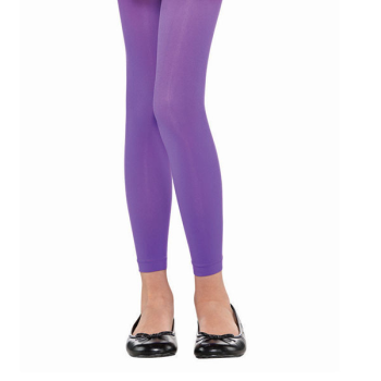 Image de PURPLE FOOTLESS TIGHTS - CHILD