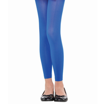 Image de BLUE FOOTLESS TIGHTS - CHILD