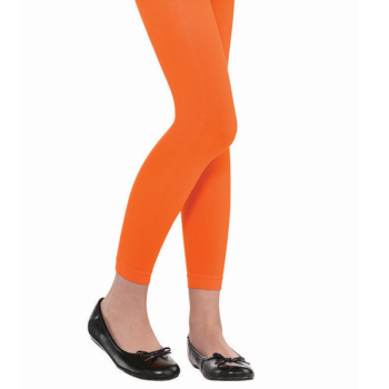 Picture of ORANGE FOOTLESS TIGHTS - CHILD