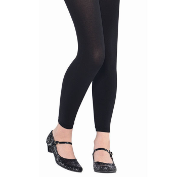 Image de BLACK FOOTLESS TIGHTS - CHILD