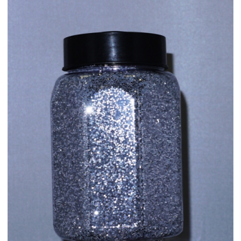 Picture of 16oz GLITTER JAR - SILVER