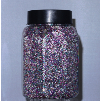 Picture of 16oz  GLITTER JAR - MULTI COLOR