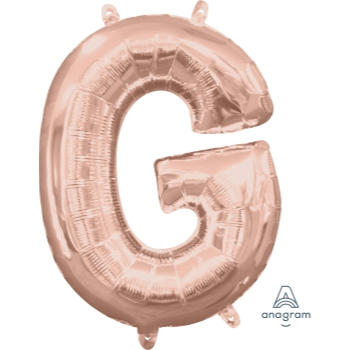 Picture of MINI SHAPE LETTER G  - ROSE GOLD (AIR FILLED)