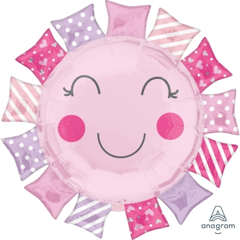 Image de BABY GIRL SUNSHINE SUPERSHAPE