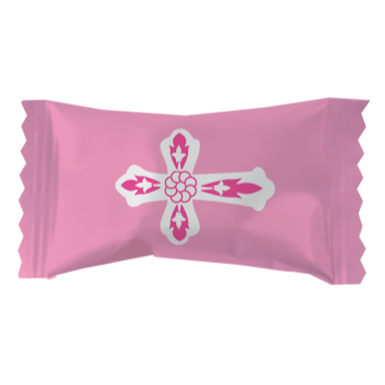 Picture of DECOR - PINK CROSS MINTS