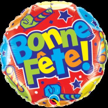 """Picture of 18"""" FOIL -  BONNE FÊTE CHAPEAUX"""