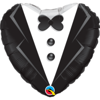 "Picture of 18"" FOIL - WEDDING TUXEDO"