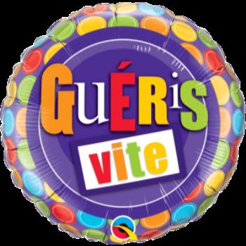 """Image de 18"""" FOIL - GUERIS VITE POIS"""