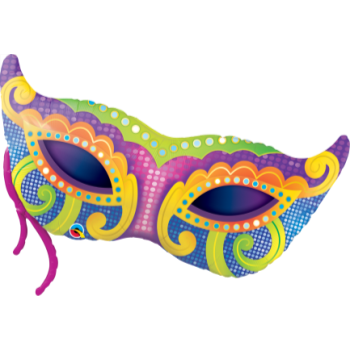 Picture of MARDI GRAS MASK SUPERSHAPE