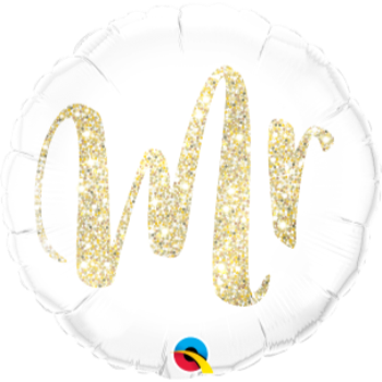 "Image de 18""  FOIL - MR GOLD GLITTER"
