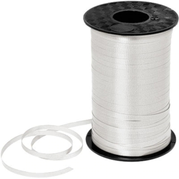 Image de WHITE CRIMPED CURLING RIBBON 500 YRDS