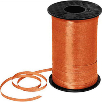 Image de ORANGE CRIMPED CURLING RIBBON 500 YRDS