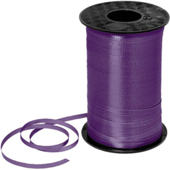 Image de PURPLE CRIMPED CURLING RIBBON 500 YRDS
