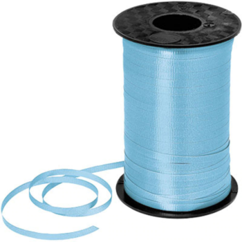 Image de LT BLUE CRIMPED CURLING RIBBON 500 YRDS
