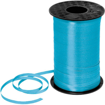 Image de TURQUOISE CRIMPED CURLING RIBBON 500 YRDS