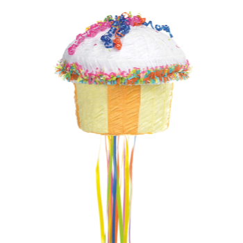 Picture of CUPCAKE PULL PINATA