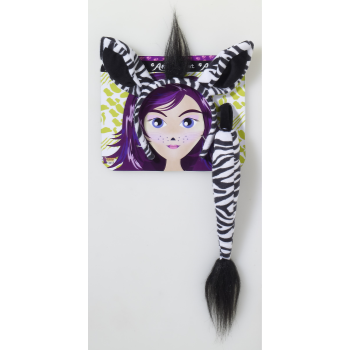 Image de ANIMAL KIT - ZEBRA EARS/TAIL