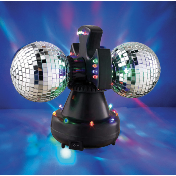 Picture of ELECTRONICS - ROTATING MIRROR BALL - DUO
