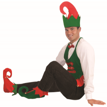 Image de WEARABLES - FELT ELF HAT AND SHOE COVER SET