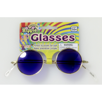 Image de 60'S BLUE HIPPIE GLASSES