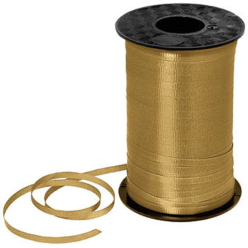 Image de GOLD CRIMPED CURLING RIBBON 500 YRDS