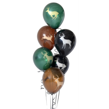 """Picture of CAMO 12"""" LATEX BALLOONS"""