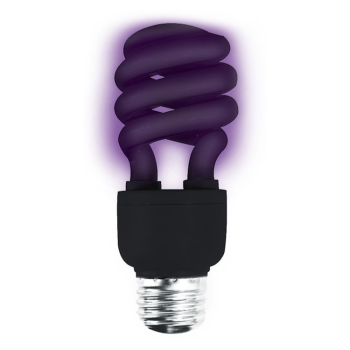 Picture of COMPACT FLUORESCENT BULB - BLACKLITE
