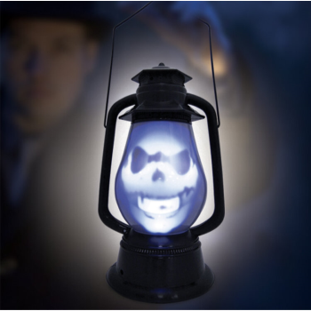 Picture of LIGHT UP LANTERN WITH SPOOKY GHOST