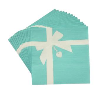 Picture of FAVORITE BLUE BOX - LUNCHEON NAPKIN