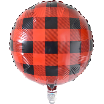 "Picture of BUFFALO PLAID - 18"" MYLAR"