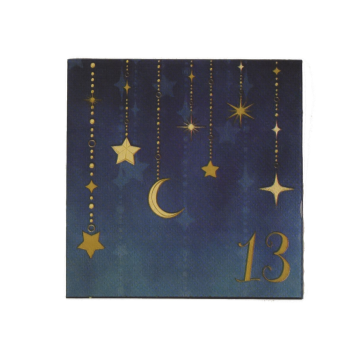 Picture of 13th STARRY NIGHT BEVERAGE NAPKIN