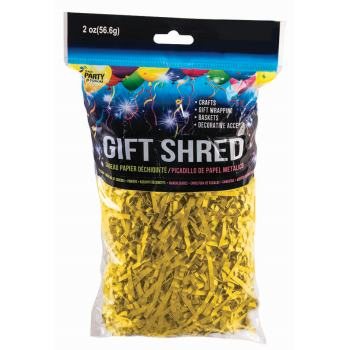 Picture of GIFT SHRED - YELLOW