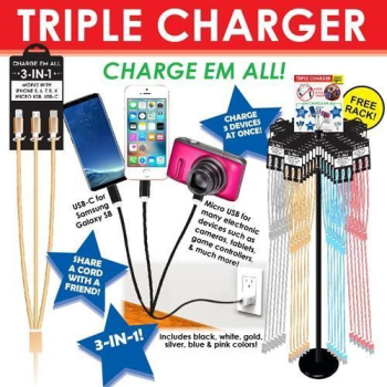 Image de 10' PHONE CORD CHARGERS