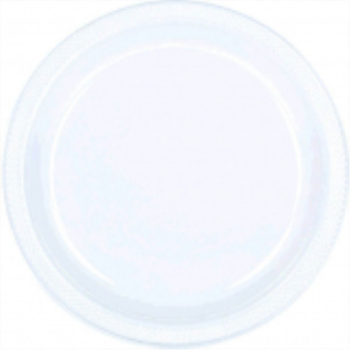 "Picture of CLEAR - 7"" PLASTIC PLATE"