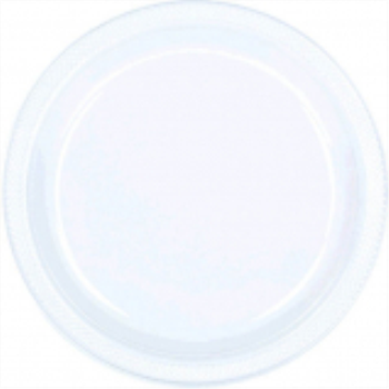 "Picture of CLEAR - 10.25"" PLASTIC PLATE"