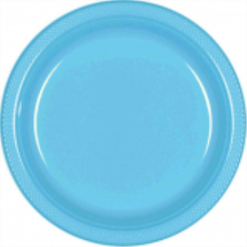 "Picture of CARIBBEAN BLUE - 10.25"" PLASTIC PLATE"