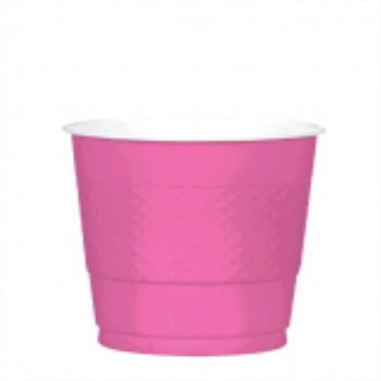 Picture of BRIGHT PINK - 9oz PLASTIC CUP