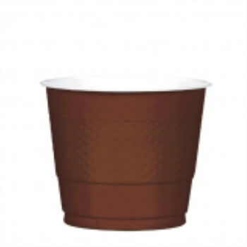 Picture of CHOCOLATE BROWN - 9oz PLASTIC CUP