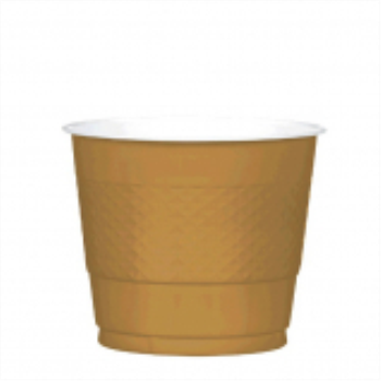Picture of GOLD - 9oz PLASTIC CUP