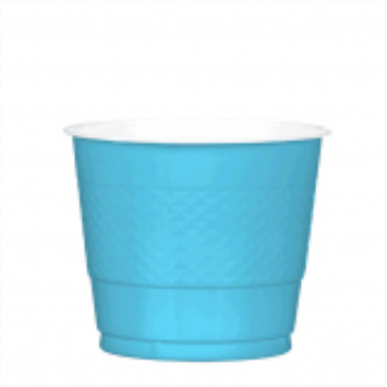 Picture of CARIBBEAN BLUE - 9oz PLASTIC CUP
