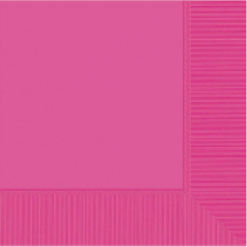 Picture of BRIGHT PINK DINNER NAPKINS
