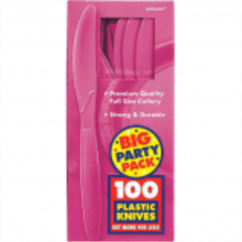 Picture of BRIGHT PINK KNIVES - BIG PARTY PACK