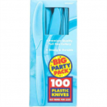 Picture of CARIBBEAN BLUE KNIVES - BIG PARTY PACK